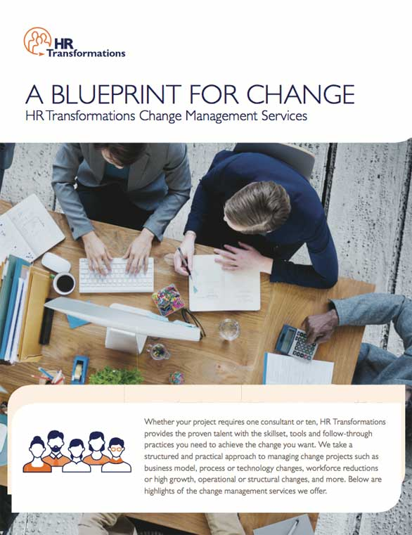 Consulting hr transformations a blueprint for change malvernweather Choice Image